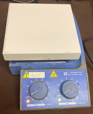Ika Works Ceramag Midi 6x6 450c 1200rpm Magnetic Stirrer Hotplate