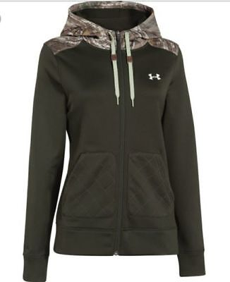 New Womens UNDER ARMOUR French Terry 1/2 Zip Hoodie S M L XL $65~$85 Womens French Terry Hoodie