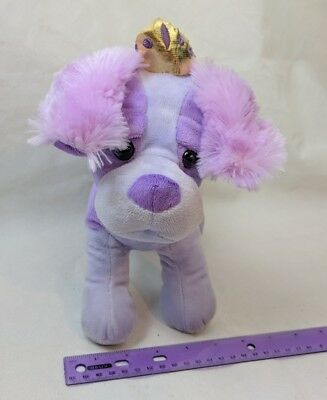 Fun Stuff Purple Princess Chihuahua Puppy Dog Plush 7