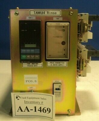 Dns Dainippon Screen Tank4 Rinse Temperature Controller Process Bath Fc-3000