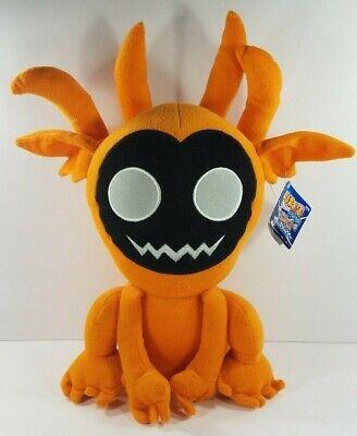 NWT Naruto Pokemon orange black 16 inch plush stuffed animal 2008
