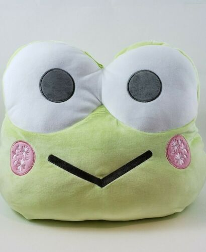 "Sanrio Keroppi Cushion Plush Special Prize Soft Squishy 16"" Brand New US Seller"