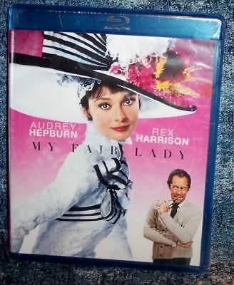BRAND NEW AUDREY HEPBURN REX HARRISON MY FAIR LADY MUSICAL MOVIE BLU RAY 1964