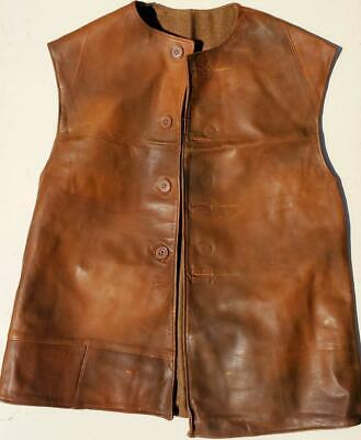 British WWII Light Brown Leather