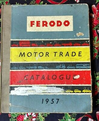 Ferodo Products for the Motor Trade 1957  Data Catalogue