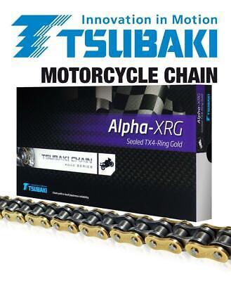 Yamaha XJR1300 / SP 98-01 Tsubaki Alpha Gold X-Ring Chain 530 x 110  for sale  Shipping to Ireland