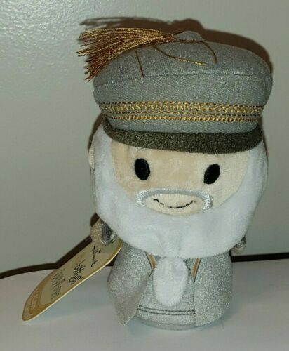"""Harry Potter ALBUS DUMBLEDORE Itty Bittys by Hallmark NWT 4"""" Plush Toy"""