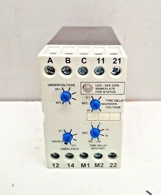 New Macromatic Pmd600 Phase Monitor Relay Ser B