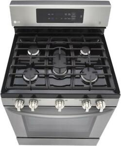 ​LG Gas Range LRG3193ST 5.4 cubic ft. Convection Oven(BNIB)