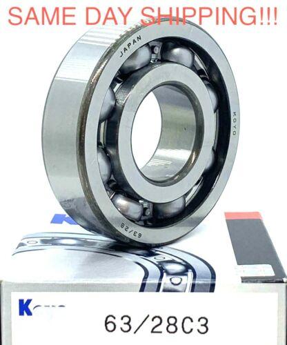 63/28 C3 Koyo Open  Ball Bearing (28x68x18mm) 91025-HL4-003   93306-37808-00