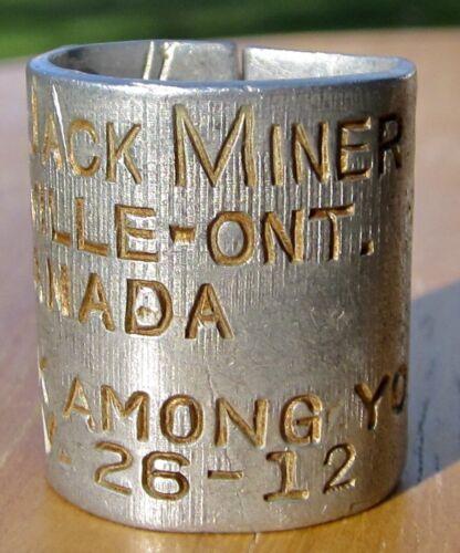 1949  JACK MINER GOOSE Duck Dove BAND