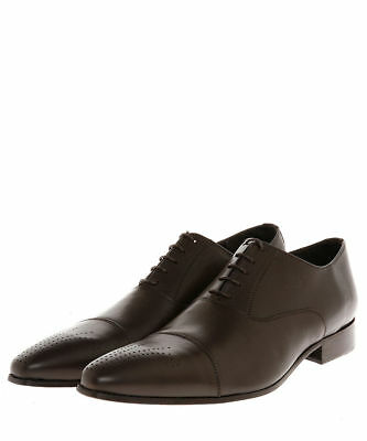 Jean-Louis Scherrer Dario laced shoes in brown SIZE 45