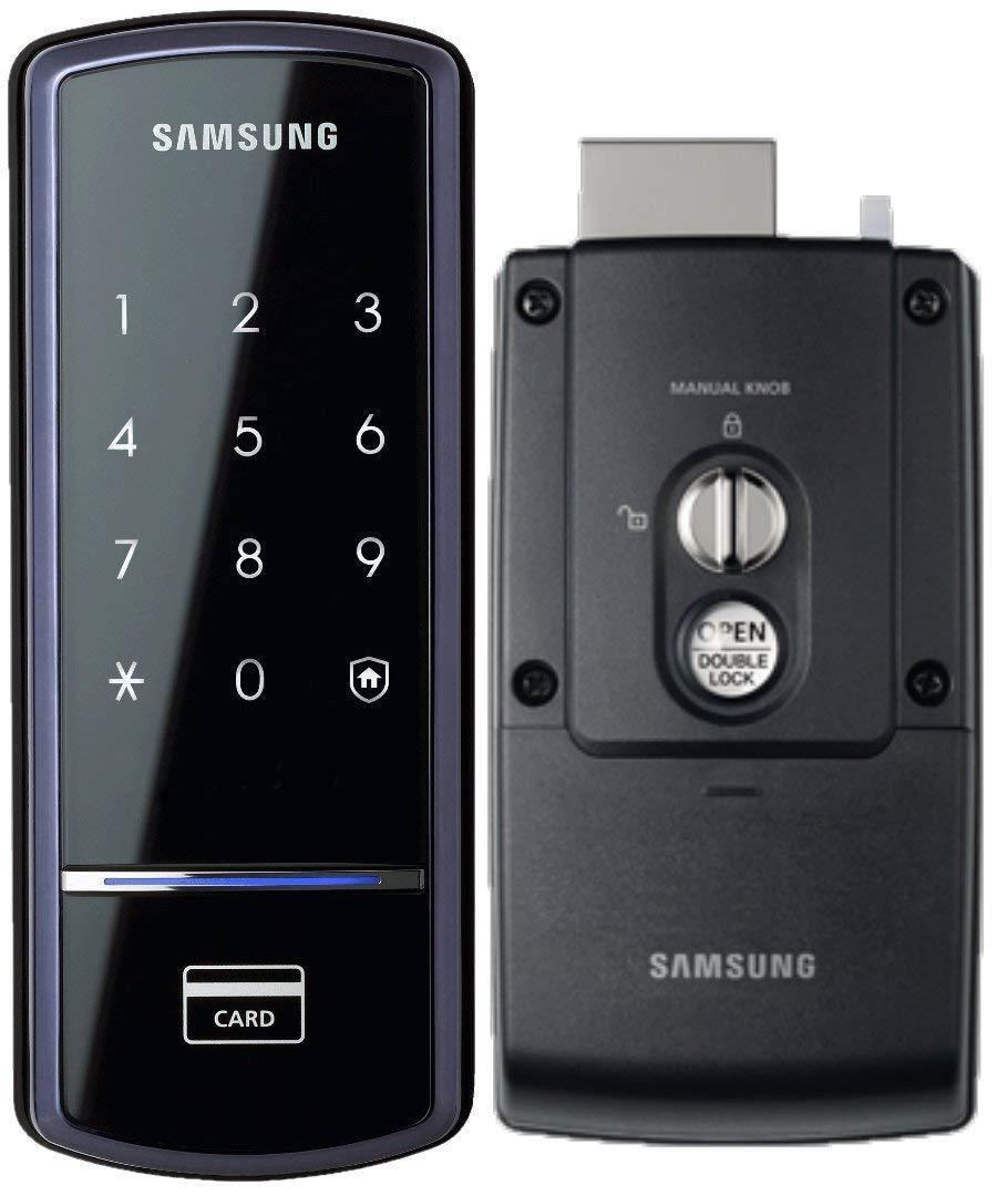 Samsung Ezon Smart Digital Door lock SHS-1321 keyless Black