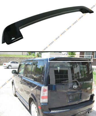 GLOSSY PAINTED BLK OE STYLE JDM REAR ROOF TOP SPOILER WING FOR 03-07 SCION XB - Jdm Bb