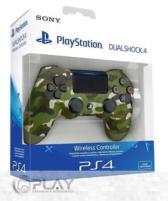 Mando PS4 Dualshock V2 Verde Camuflaje - Green Camo - 100% Original...