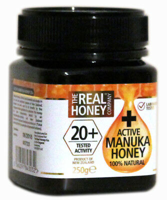 New Zealand The Real Honey Company Manuka Honey Active 20+ - 250g