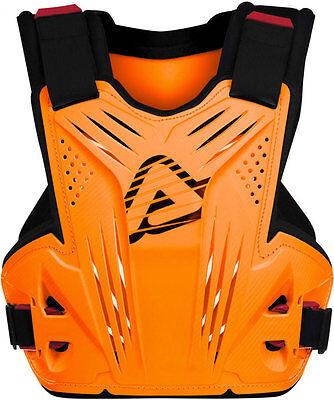 ACERBIS IMPACT MX CHEST PROTECTOR FLO ORANGE ROOST MOTOCROSS ENDURO BODY ARMOUR