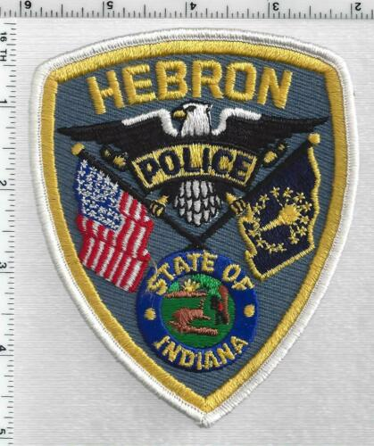 Hebron Police (Indiana) 1st Issue Shoulder Patch