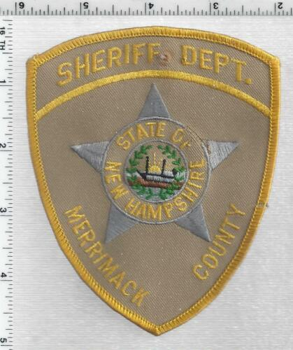 Merrimack County Sheriff (New Hampshire) 1st Issue Shoulder Patch