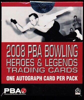 2008 Rittenhouse PBA Heroes & Legends Box (8 Auto's/box)