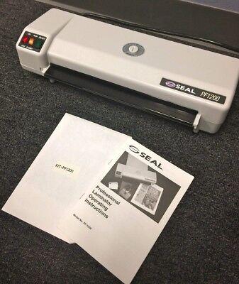 Seal 12 Pf1200 Professional Laminator Nib W Manual Serial 2051 Huntgraphics