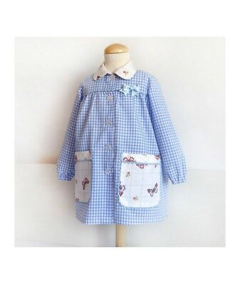 PDF sewing PATTERN Art SMOCK  Baby Toddler APRON Back to school easy DIY 1-6year (Diy Easy Crafts)