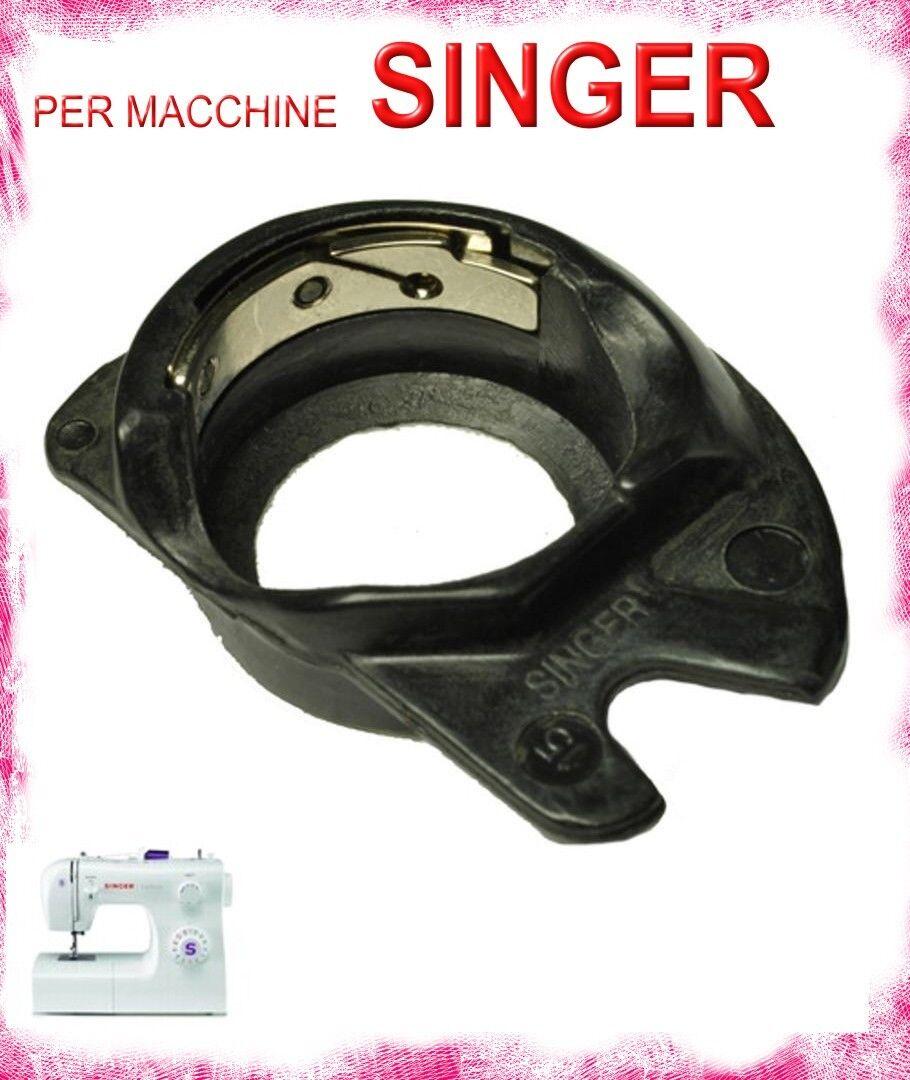 Cestello Apollo Portaspola Capsula Macchina Macchine da per Cucire Singer NERO