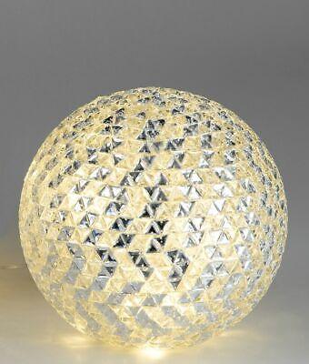 Formano una Bola Incl. Luz LED, De Transparente Mosaikglas, Aprox. 25c