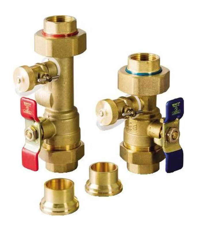 "NAVIEN 30010950A 1"" Isolation Valve Kit without Relief Valve"
