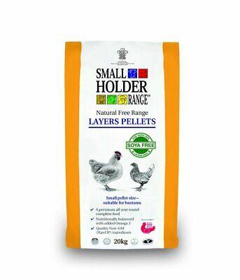 Smallholder Range Layers Pellets - 20kg