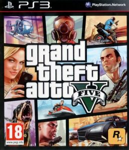 Grand Theft Auto V PS3 GTA V