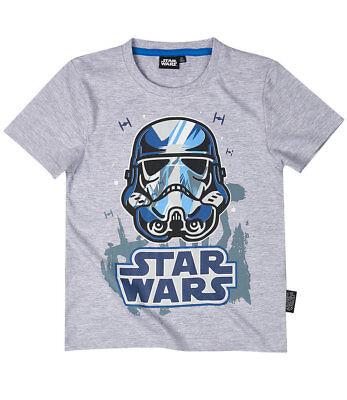 Star Wars Jungen T-Shirt grau in Gr. 116-152