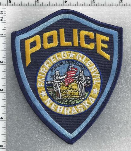 Fairfield Police (Nebraska) 2nd Issue Shoulder Patch