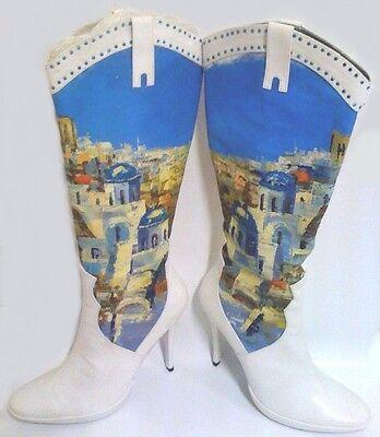 traumhafte rote Lack Schnallen Designer High Heels Pumps Stiefeltten  Gr.39