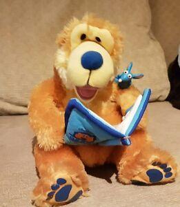 Bear in the big blue house story telling talking bear - plush - FREE SHIPPING