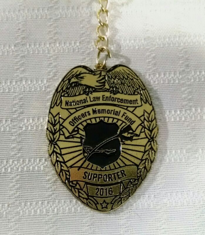 2016 National Law Enforcement Officers Memorial Fund Supporter Keychain