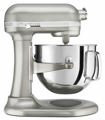 KitchenAid KSM7586PSR Pro Line 7 Qt Bowl-Lift Stand Mixer Sugar Pearl Silver