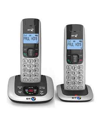 BT 3520 TWIN DIGITAL CORDLESS TELEPHONE WITH ANSWERING MACHINE & HANDSFREE