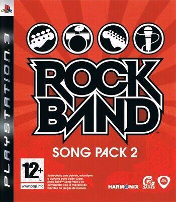 Rock Band Song Pack 2 PS3 playstation 3 jeux musique games spelletjes 4290