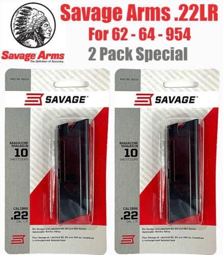 Savage 64 Magazine 22LR 10 Rd Mag Clip 62 954 Lakefield Rifle FREE SHIPPING 2PAC