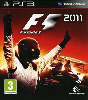NEW*SEALED PS3 Game F1 2011 (Sony PlayStation 3) FACTORY SEALED comprar usado  Enviando para Brazil