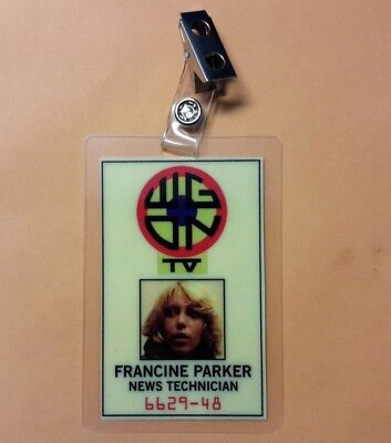 Dawn of the Dead ID Badge- Francine Parker WGON Costume cosplay prop  - Dawn Of The Dead Costumes