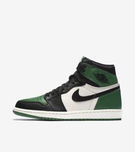 Air Jordan 1 Pine Green 10.5