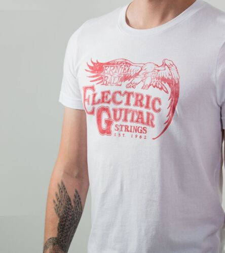 Ernie Ball Electric Guitar Strings T-Shirt NEW!! Size Extra Large