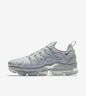 Nike Vapormax Plus Silver Men's UK9 Brand New READ DESCRIPTION