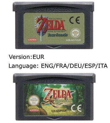 Gameboy Advance GBA EUR The Legend Of Zelda Minish Cap / Four Swords, usado comprar usado  Enviando para Brazil