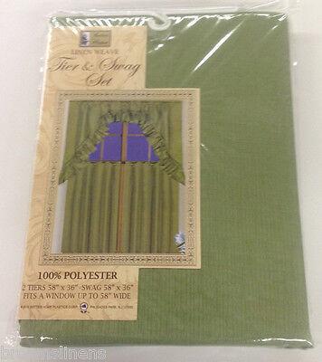solid color linen weave 36 inch long