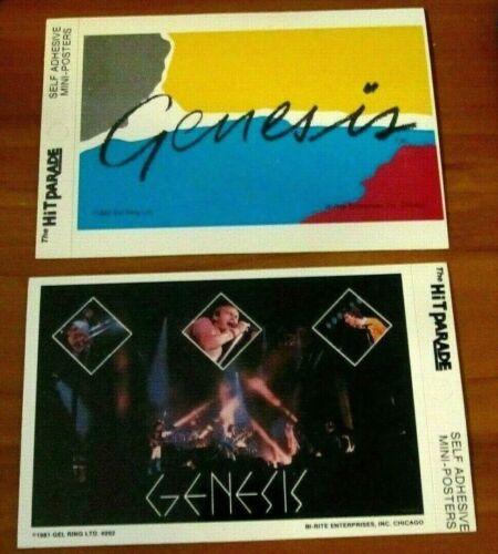 GENESIS Lot 1981 & 1982 Original Vintage Stickers