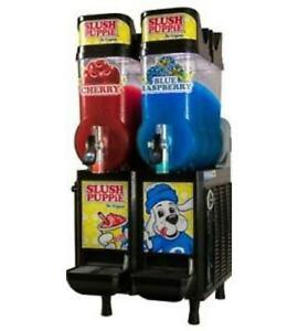 CAB Faby Two Bowl Slush Puppie Machine Granita Margarita Icee 60 Day Warranty