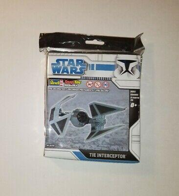 Revell Star Wars SnapTite Model Kit Tie Interceptor NIB; 85-8330